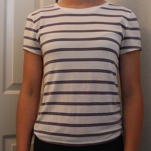 Forever 21 Stripped Retro T-Shirt